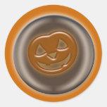 calabaza de 3D Halloween Pegatina