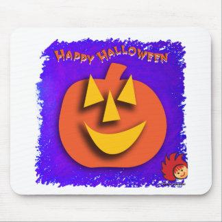 Calabaza de Halloween Alfombrillas De Ratones