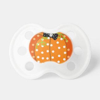 Calabaza de Halloween Chupetes Para Bebes