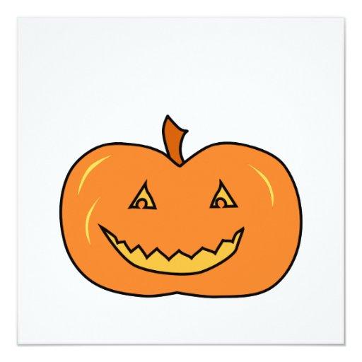 Calabaza de Halloween con mueca Anuncios Personalizados