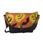 Calabaza de Halloween de la diversión y diseño del Bolsa De Mensajería