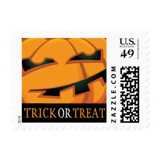 Calabaza de Halloween del truco o de la invitación Envio