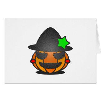 Calabaza de Halloween Felicitaciones