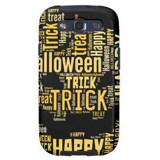 Calabaza de Halloween Galaxy S3 Coberturas