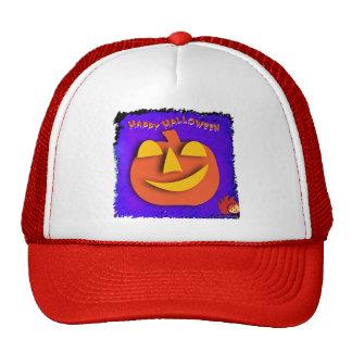 Calabaza de Halloween Gorras De Camionero