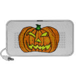 Calabaza de Halloween/linterna de Jack-o' Notebook Altavoces