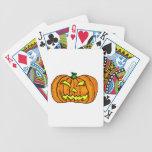 Calabaza de Halloween/linterna de Jack-o' Baraja Cartas De Poker