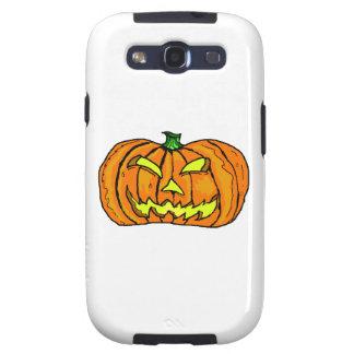Calabaza de Halloween/linterna de Jack-o' Galaxy S3 Protector