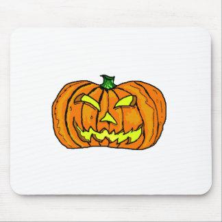 Calabaza de Halloween linterna de Jack-o Alfombrillas De Raton