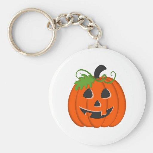 Calabaza de Halloween Llaveros Personalizados