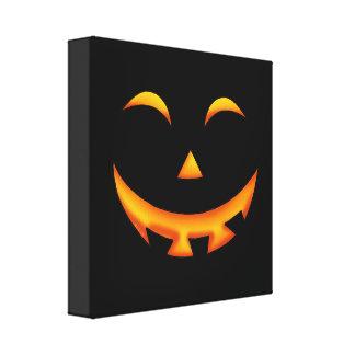 Calabaza de Halloween Lona Envuelta Para Galerias