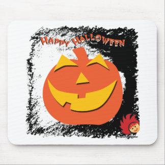 Calabaza de Halloween Mousepads