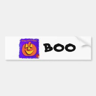Calabaza de Halloween Pegatina Para Auto