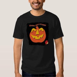 Calabaza de Halloween Poleras