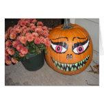Calabaza de Halloween Tarjetas