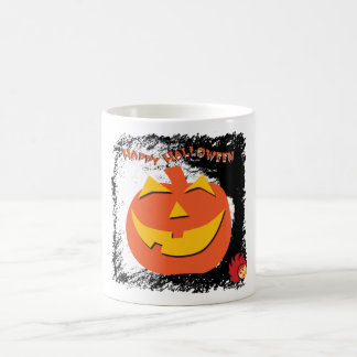 Calabaza de Halloween Taza Clásica
