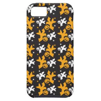 Calabaza de Halloween y repetición linda del iPhone 5 Cárcasa