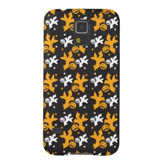 Calabaza de Halloween y repetición linda del Funda De Galaxy S5