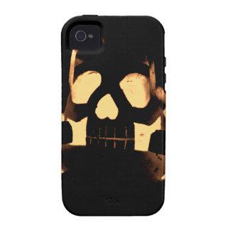 Calabaza de Horrorstuff Halloween iPhone 4 Carcasas