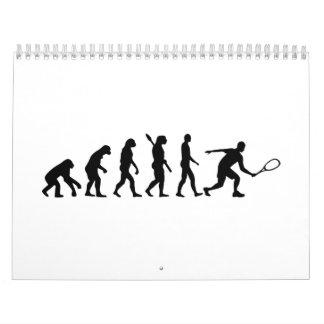 Calabaza de la evolución calendario de pared