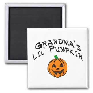 Calabaza de Lil de las abuelas Imán De Frigorífico