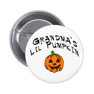 Calabaza de Lil de las abuelas Pins