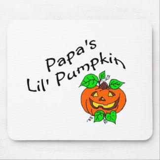 Calabaza de Lil de las papás Tapetes De Raton