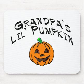 Calabaza de Lil de los abuelos Tapetes De Ratones