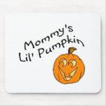 Calabaza de Mommys Lil Alfombrillas De Ratón