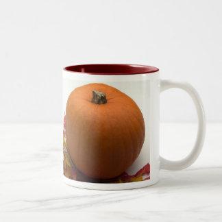 Calabaza de otoño taza de café