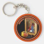 Calabaza de Rupert y el Swami Llavero Personalizado