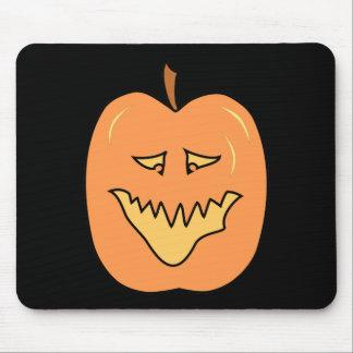 Calabaza del dibujo animado Halloween Alfombrillas De Raton