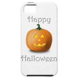 Calabaza del feliz Halloween iPhone 5 Coberturas