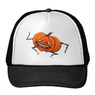 calabaza del feliz Halloween Gorra