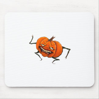 calabaza del feliz Halloween Tapetes De Ratones