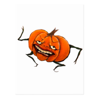 calabaza del feliz Halloween Tarjeta Postal