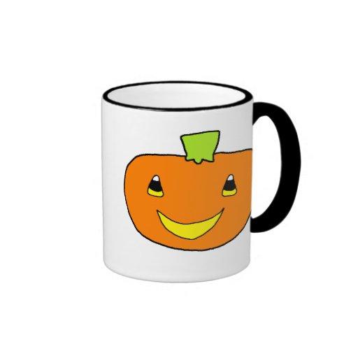 Calabaza del feliz Halloween Taza De Café