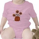 Calabaza del girasol trajes de bebé