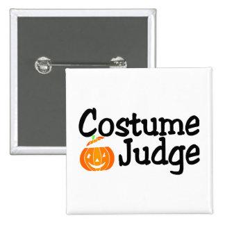 Calabaza del juez del traje pins