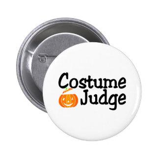Calabaza del juez del traje pin