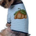 Calabaza del país ropa para mascota
