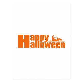 Calabaza del RASGÓN del feliz Halloween Postales