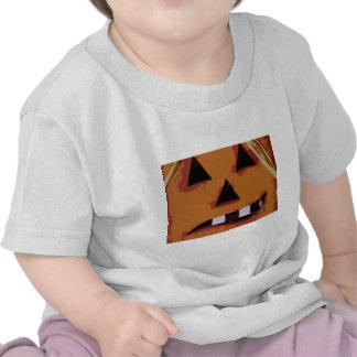 Calabaza dentuda camisetas