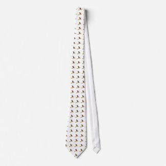 Calabaza en la corbata del palo de escoba