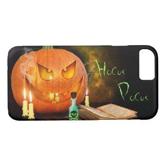 Calabaza fantasmagórica de Halloween Funda iPhone 7