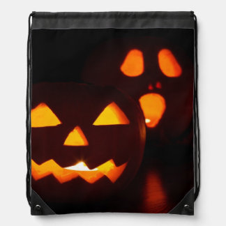 Calabaza fantasmagórica de Halloween Mochilas