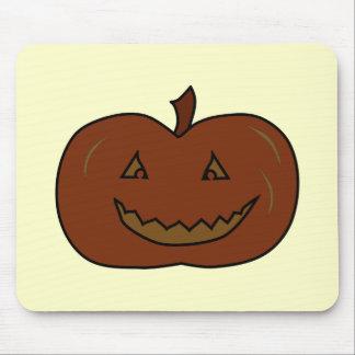 Calabaza feliz Colores oscuros Halloween Tapetes De Ratones