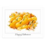 Calabaza Halloween buenas fiestas Postales