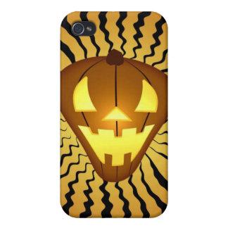 Calabaza i4 de Halloween iPhone 4 Coberturas