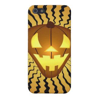 Calabaza i4 de Halloween iPhone 5 Fundas
